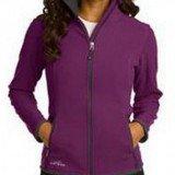 Eddie Bauer Ladies Full-Zip Vertical Fleece Jacket