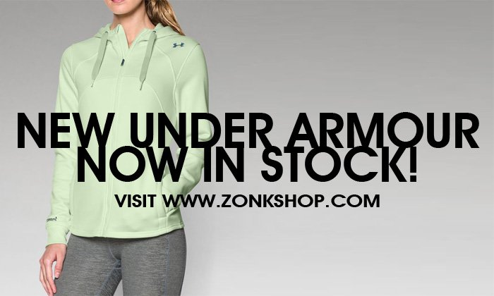 New Under Armour for Fall and Winter Now in Stock