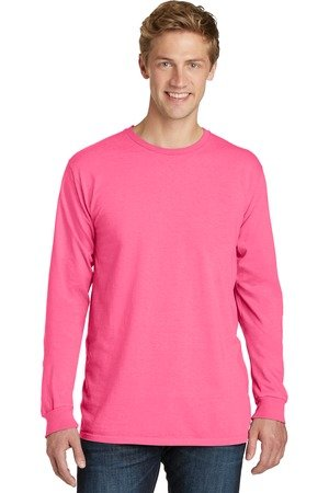 Pink Ribbon Long Sleeve T-Shirts - Pink