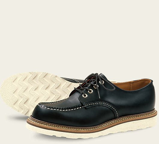 Red Wing Black Chrome Oxford