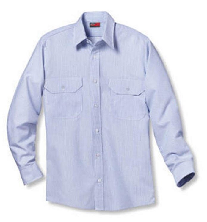 Red Kap Long Sleeve Dress Uniform Shirt