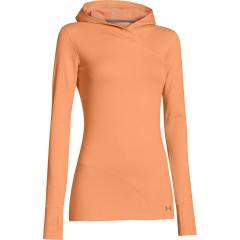 Under Armour Orange Base Layer Hoodie