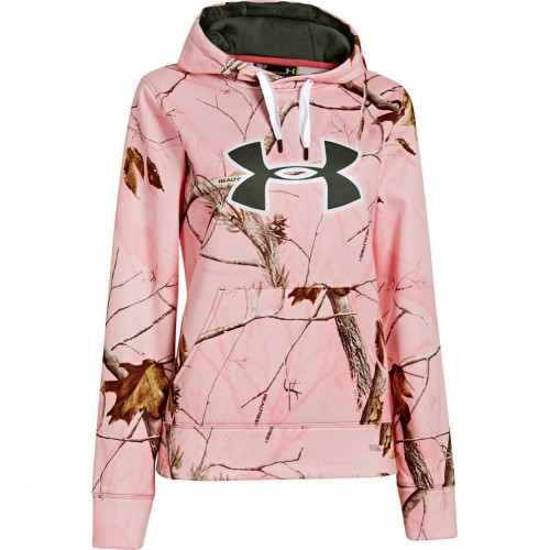 Under Armour Camo Big Logo Hoody Womens