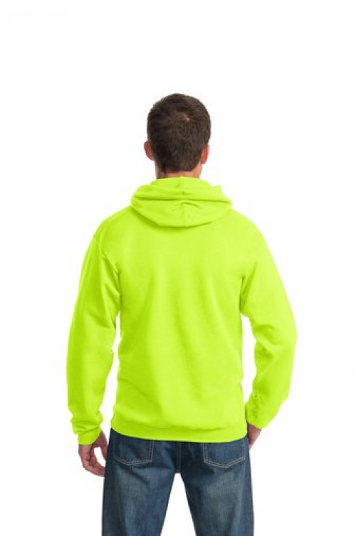 Safety Yellow Port & Company® - Essential Fleece Pullover Hooded Sweatshirt