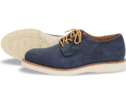 Red Wing Heritage Postman Oxford Navy