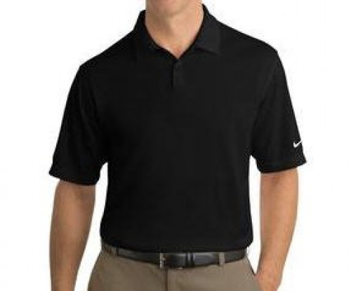 Nike Golf Dri-FIT Pebble Textured Polo