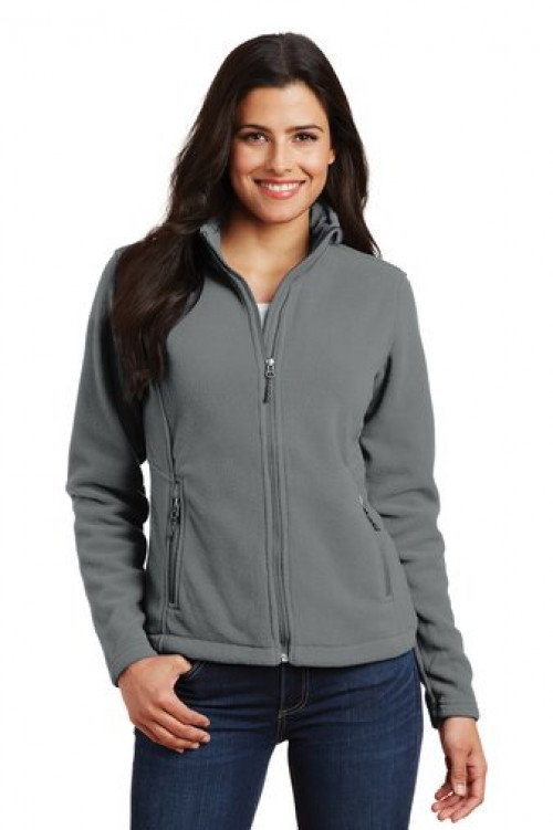 Ladies Value Fleece Jacket - L217 Gray