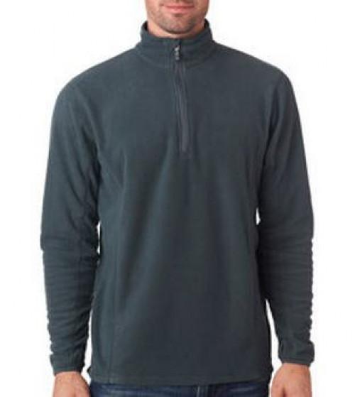 Men's Lightweight Microfleece Quarter-Zip Pullover