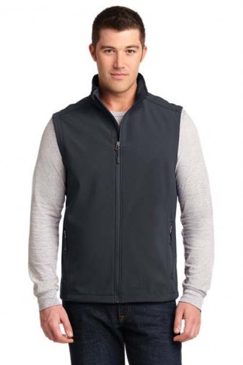 Soft Shell Vest - J325 - Battleship Grey