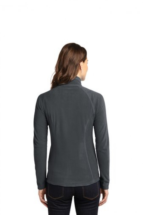 Eddie Bauer® Ladies Full-Zip Microfleece Jacket - EB225 Gray