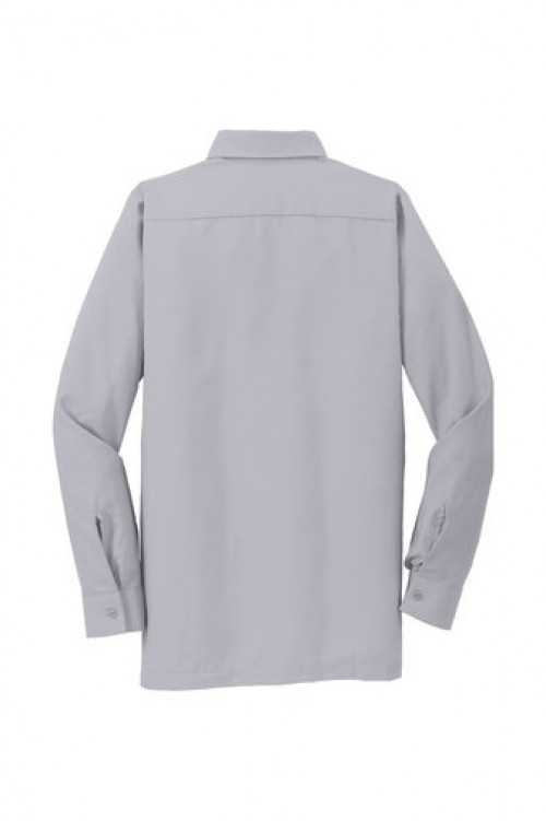 Long Sleeve Solid Ripstop Shirt - SY50 - Grey