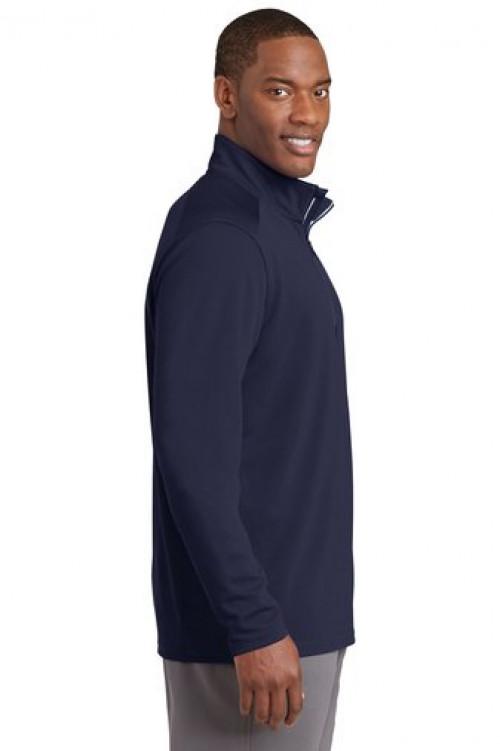 Sport-Tek® Sport-Wick® Textured 1/4-Zip Pullover ST860