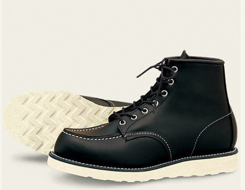 Red Wing 6-inch Classic Moc Black