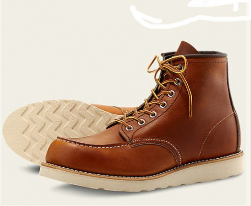 Red Wing 6-inch Classic Moc Oro