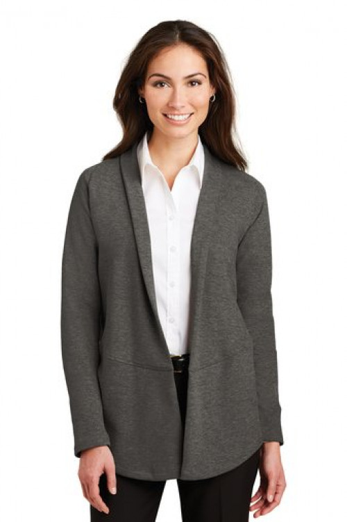 Ladies Interlock Cardigan - L807