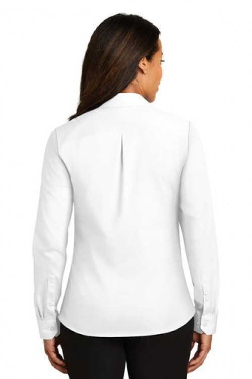 Ladies Non Iron Twill Shirt - RH79 - White