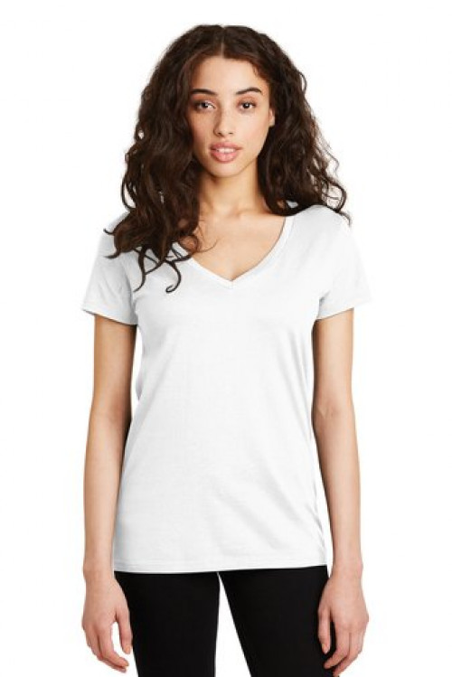 Alternative Women's Legacy V-Neck T-Shirt - AA9073 - White