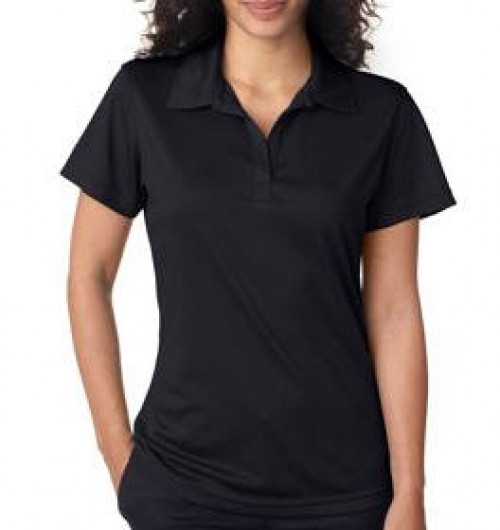 UltraClub Ladies' Jacquard Stripe Polo