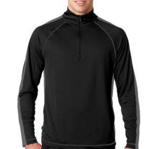 UltraClub Adult Sport 1/4 Zip Pullover