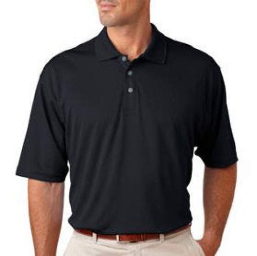 UltraClub Men's Mesh Sport Polo