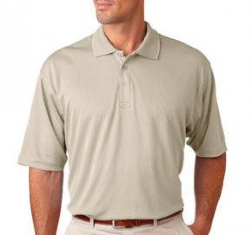 UltraClub Men's Tall Mesh Sport Polo