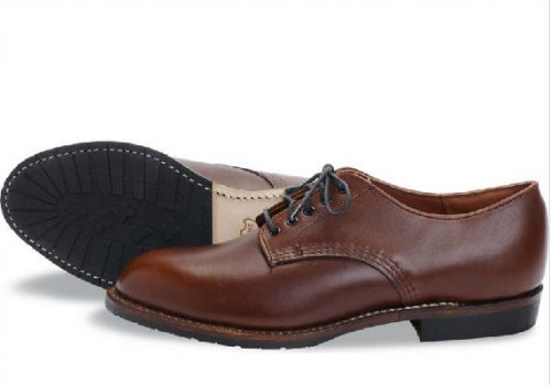 Red Wing Heritage Beckman Oxford Teak Featherstone