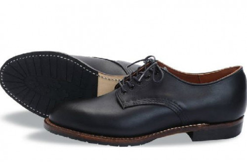 Red Wing Heritage Beckman Oxford Black Featherstone