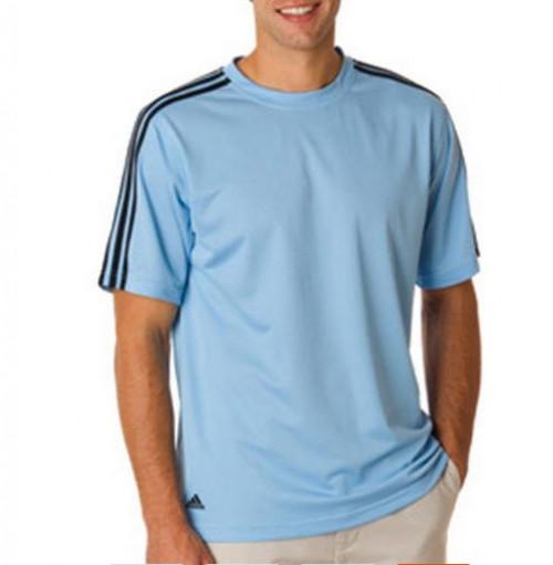 Adidas ClimaLite 3-Stripe Golf Tee