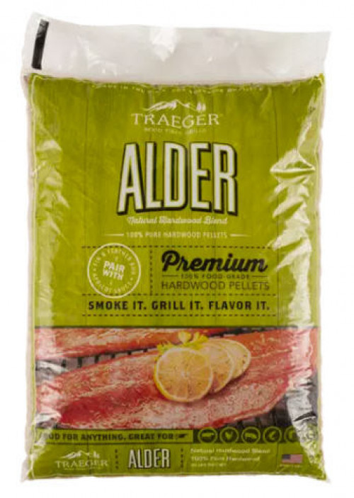 TRAEGER ALDER BBQ WOOD PELLETS