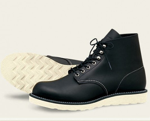 Red Wing Heritage 6 Inch Round Black Chrome