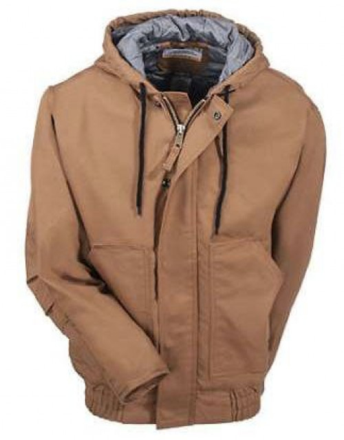 Berne FR Quilt Lined Hooded Jacket