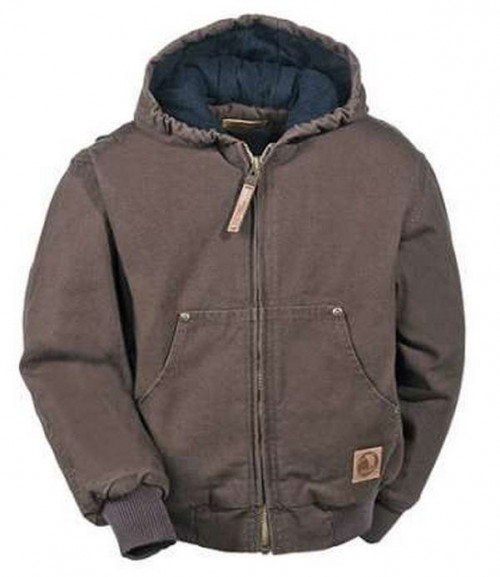 Berne Washed Hooded Jacket