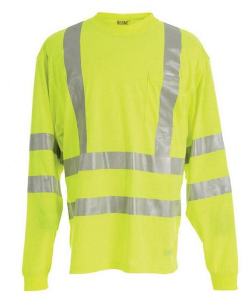 Berne Hi-Visibility Long Sleeve Pocket Shirt