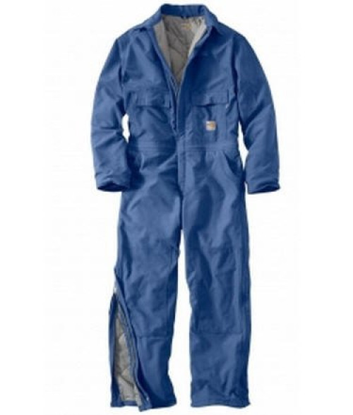 Carhartt Men's Flame-Resistant Duck Quilt-lined Coverall