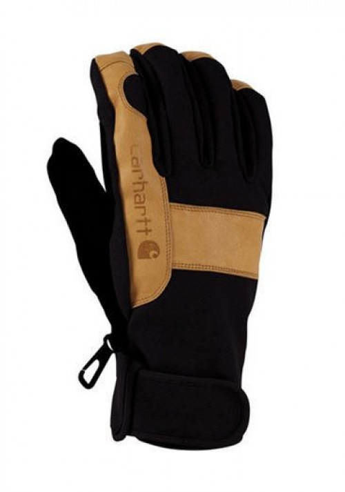 Carhartt Glove A508BLK Carhartt Chill Stopper Glove in Black and Barley