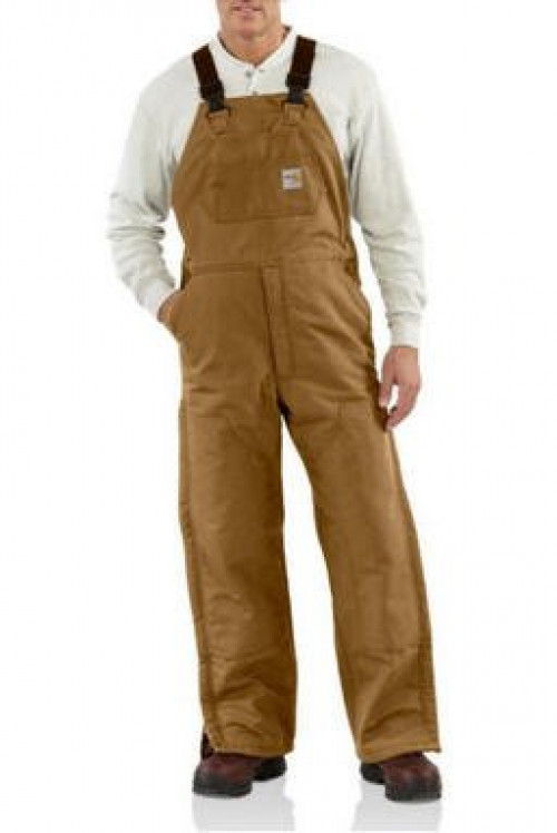 Carhartt Men's Flame-Resistant Quilt Lined Overall