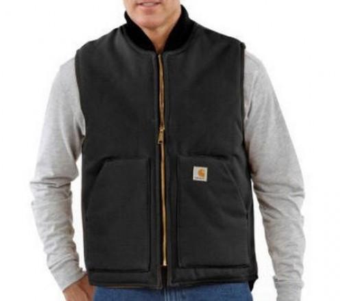 Carhartt V01 Duck Vest/Arctic Quilt Lined