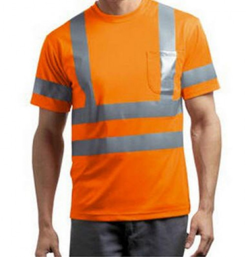 Short Sleeve Reflective T-Shirt ANSI Class 3