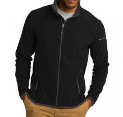 Eddie Bauer Full-Zip Vertical Fleece Jacket