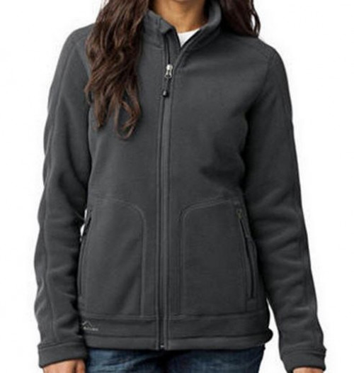Eddie Bauer Ladies Wind Resistant Full-Zip Fleece Jacket