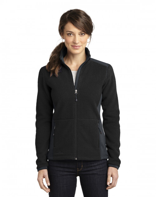 Ladies Full-Zip Sherpa Fleece Jacket