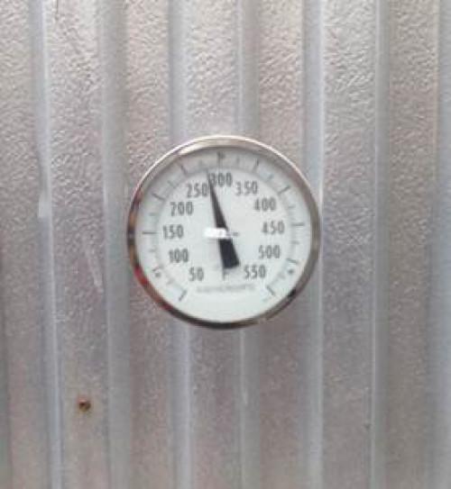Temperature Gauge Sticker