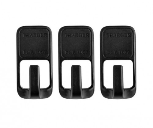 TRAEGER GRILL HOPPER MAGNETIC TOOL HOOKS - 3 PIECE