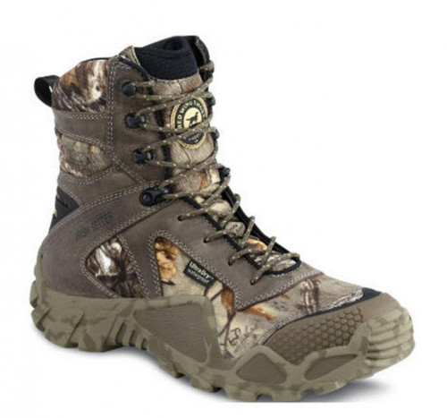 Irish Setter Realtree Xtra Brown Leather UltraDry 8'' Boot