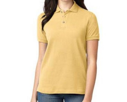 Port Authority Ladies Pique Knit Polo
