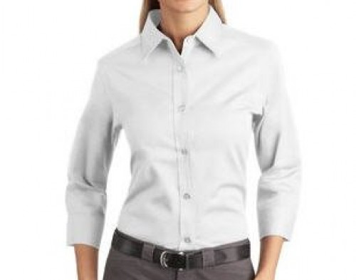 Port Authority Ladies 3/4-Sleeve Easy Care Shirt