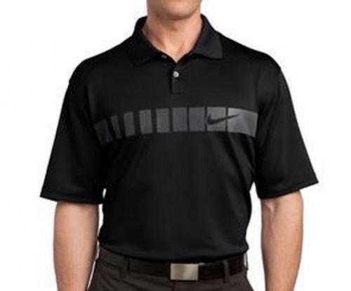 Nike Golf Dri-fit Chest stripe Polo