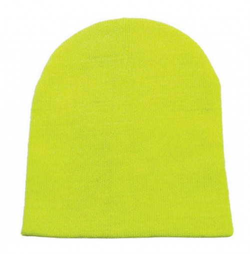 Safety Yellow Knit Beanie