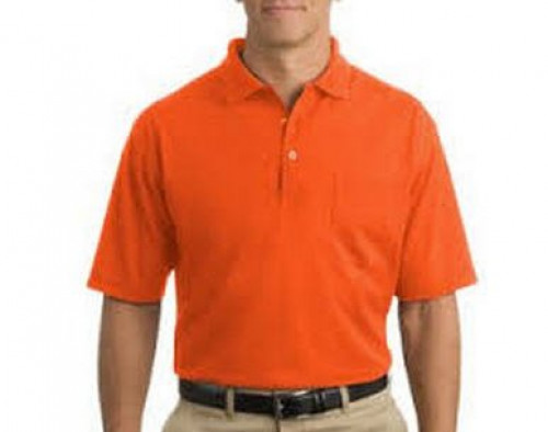 Cornerstone Pocket Pique Polo