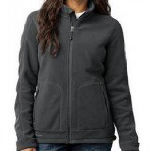 Eddie Bauer Ladies Wind Resistant Full-Zip Fleece Jacket